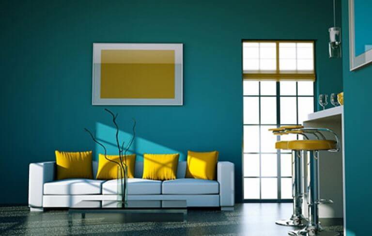 دکوراسیون داخلی با رنگ روغنی