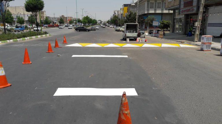 اجرای رنگ ترافیکی