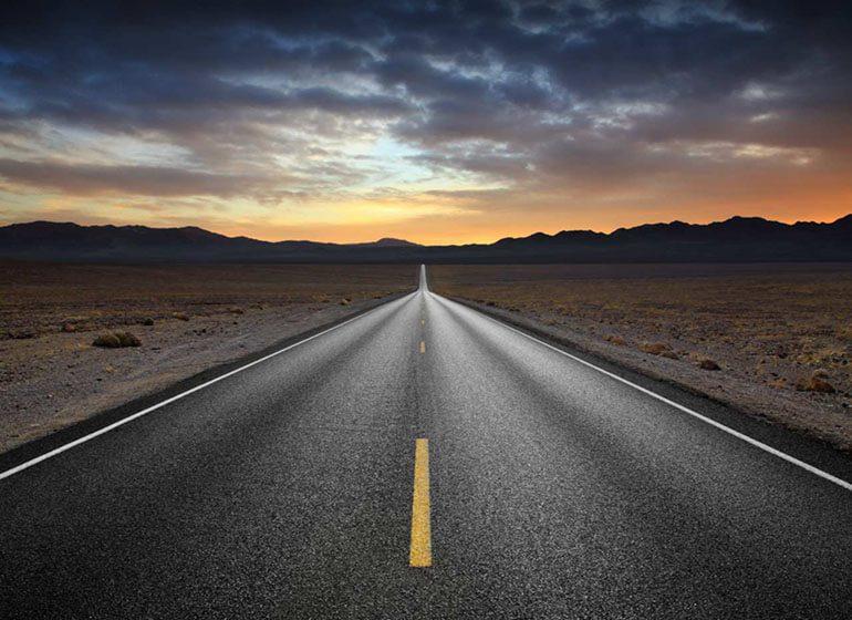 اجرای خطوط جاده ای
